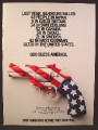 Magazine Ad For Handgun Control, Stop Handguns Before They Stop You Red White Blue Gun 1981