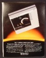 Magazine Ad For Technics SL-15 Linear-Tracking Turntable. Linear Tracking, Stereo, 1982