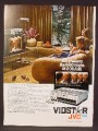 Magazine Ad For JVC Vidstar HR-7300 VHS Recorder, HR 7300, Electronics, 1982, 8 1/8 by 10 7/8