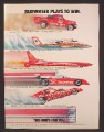 Magazine Ad For Budweiser Beers, Sponsored Vehicles, Funny Car, Hydroplane, Rocket Car, 1983