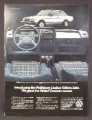 Magazine Ad For Volkswagen Wolfsburg Limited Edition Jetta Car, Thicker German Accent, 1983