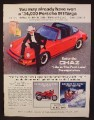 Magazine Ad For Chaz Cologne, Fragrance, Porsche 911 Targa Car Contest, 1986, 8 1/8 by 10 7/8
