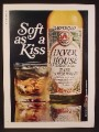 Magazine Ad For Inver House Rare Scotch Whisky, Soft As A Kiss, 1970, 8 1/4 by 11 1/8