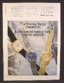 Magazine Ad For Eterna-Sonic Watches, Watch, 3 Different Models, Eterna Sonic, 1970