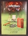 Magazine Ad For Sheaffer Pens, Pen, Fountain, Ball Point, 7 Different Models, Desk Set, 1970