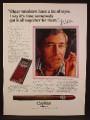 Magazine Ad For Capitan De Tueros Cigars, John Weitz, Celebrity Endorsement, Cigar, 1975