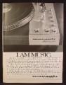Magazine Ad For Marantz Model 6300 Direct Drive Turntable, I Am Music, Stereo, 1977