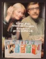 Magazine Ad For 11 Jovan Aftershave Colognes, If One Doesn't Get Her Another Will, 1977