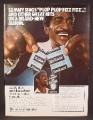 Magazine Ad For Alka-Seltzer, Sammy Davis Jr Album Offer, Celebrity Endorsement, 1978