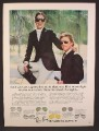 Magazine Ad For Bausch & Lomb Ray-Ban Sunglasses, Couple In Equestrian Clothes, Ray Ban, 1978