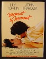 Magazine Ad For Moment By Moment Movie, Lily Tomlin, John Travolta, 1979, 8 1/8 by 10 7/8