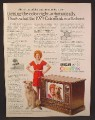 Magazine Ad For RCA Colortrak TV Television, Little Orphan Annie & Dog, 1979, 8 1/8 by 10 7/8