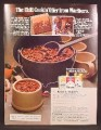 Magazine Ad For Marlboro Cigarettes, Chili Cookin Offer, 1979, 8 1/8 by 10 7/8