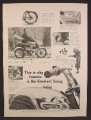 Magazine Ad For Yamaha Rotary Jet 80 Motorcycle, Close Up of Tank & Bars, 1964, 8 3/8 by 11