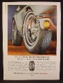 Magazine Ad For Firestone 125 MPH Super Sports Tire for Sports Cars, 1964, 8 3/8 by 11