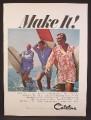 Magazine Ad For Catalina Beachwear For Men, Surfer Mike Doyle, Ken Adler, Robert August, 1966