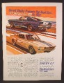 Magazine Ad For 1967 Shelby G.T. 350 And GT 500, The Road Cars, 1966, 8 3/8 by 11