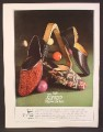Magazine Ad For Evans Hand Turned Slippers For Men, Paisley, Sultan Mule, Baronet Opera, 1966