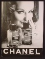 Magazine Ad For Chanel A Gentleman's Cologne & After Shave, Pretty Woman, 1967