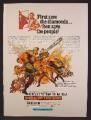 Magazine Ad For Dark Of The Sun Movie, Rod Taylor, Yvette Mimieux, Congo War, 1968