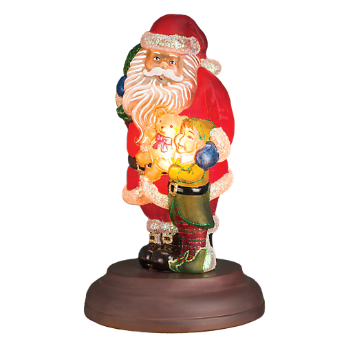 Santas bright eyed buddy night light by merck 529771 holidays and