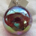 125L Ruby Feather Glass Eye Studio Classic Round Ornament2.jpeg