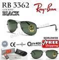 rb3404  Rayban Ray Ban RB 3404 RB3404 65MM Gunmetal Brown 004 ...