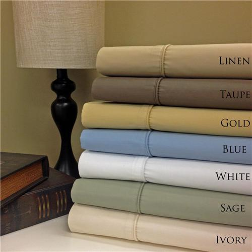 650 thread count wrinkle free egyptian cotton 22 deep for Highest thread count egyptian cotton sheets