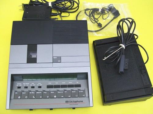 dictaphone transcriber machine