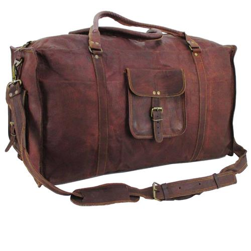 Leather Carry on Bags. Sports & Outdoors. Team Sports. Sports & Duffel Bags. Leather Carry on Bags. Showing 40 of results that match your query. Product Title. Embassy™ Travel Gear 17