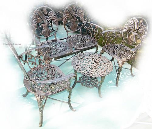 Muebles aluminio muebles jardin mesas y sillas fundicion for El maiten muebles