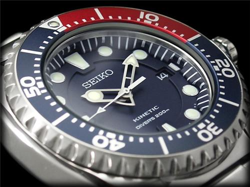 Seiko Kinetic Dive Watches