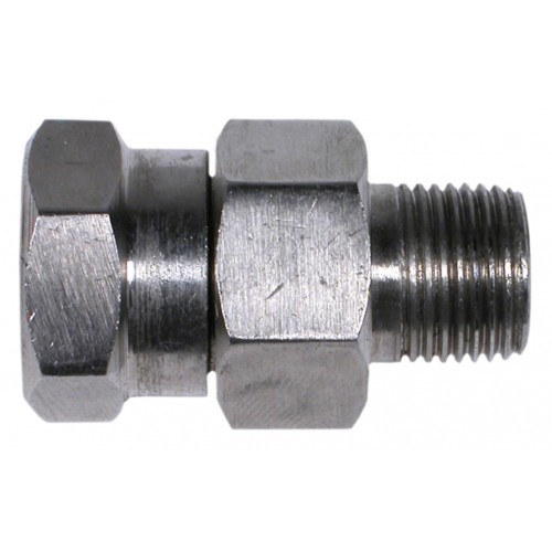 Stainless psi high pressure swivel for power washer