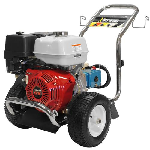 xstream psi gpm gas washer honda engine  cat pump pressure washers  canada