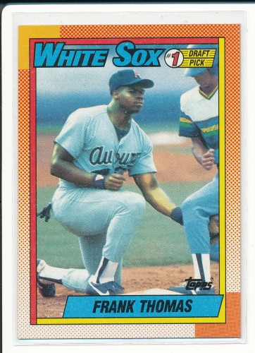 1990 TOPPS #1 DRAFT PICK FRANK THOMAS 1B #414.jpeg
