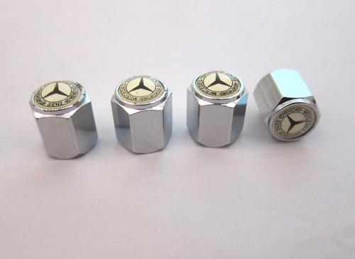 R plus auto accessories styling for Mercedes benz valve stem caps