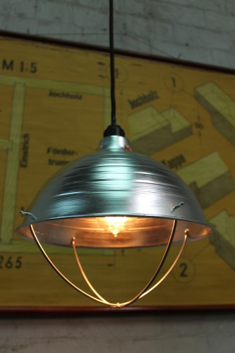 Ceiling Light Crossbar : Crossbar guard light pendant ceiling fixture with
