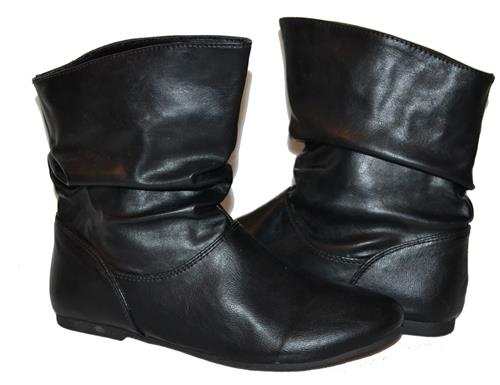 leather ankle boots for women
