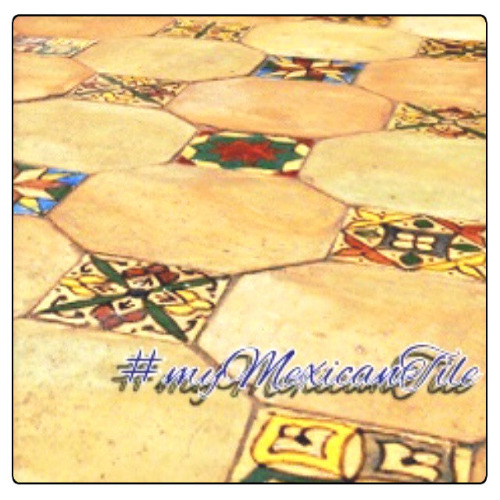 rustic ceramic floor tiles from Mexico