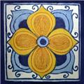 mexican tile arabic flower