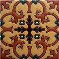 Artisan Produced Relief Tile Astrid