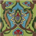 artisan produced relief tile Alma