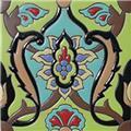 handmade relief tile Armida