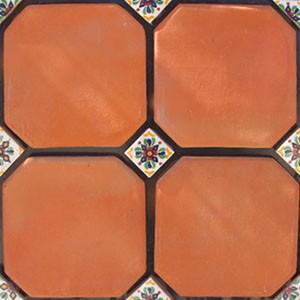Mexican Clay Floor Tiles Mexican Tiles 169 Kitchen Bath
