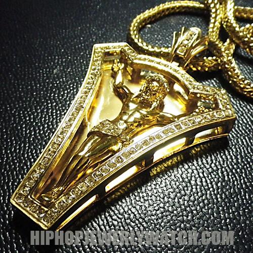 Blue Diamond Hip Hop Jewelry Hip Hop Jewelry Wooden