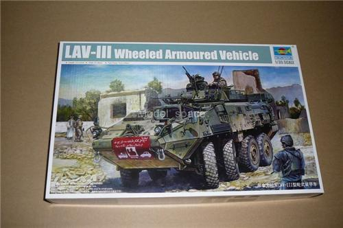 Trumpeter 1/35 01519 Canadian LAV-III Armored Vehicle