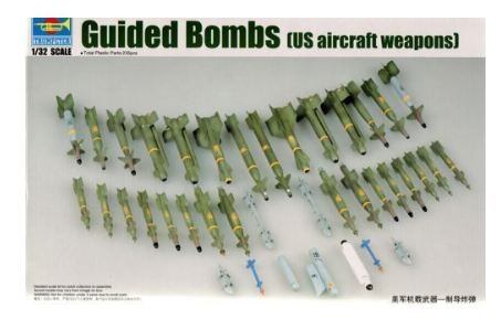 Trumpeter 1/32 03304 US Aircraft Weapons - Guided B NIB_Img