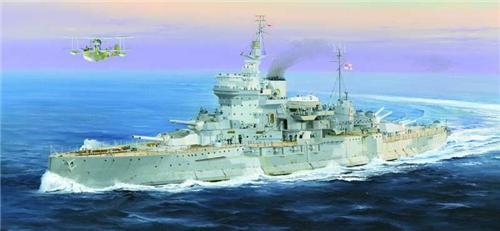 TRUMPETER 1/350 05325 Battleship HMS Warspite 1942