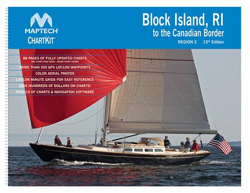 Maptech Chartkit Region 02 Block Island Ri Canada 16th