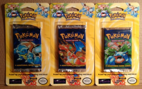 Pokemon Original Basic Base Booster Blister Pack